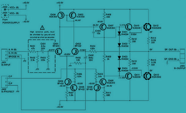 125w power amplifier  ab class