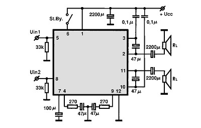 Simple Cable Tv  lifier additionally Tl081 Smt Jfet Op   Ic together with Piezo Speaker Circuit Diagram moreover 1 Watt Fm  lifier moreover Simple Temperature Monitor. on arduino audio amplifier