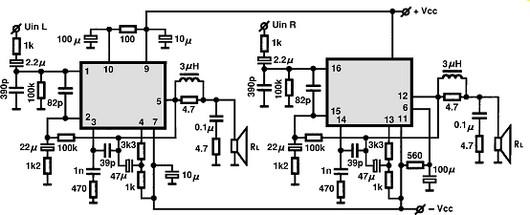 Circuito Eletronica : Stk circuitos integrados para áudio utilização