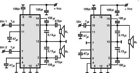 Circuitos Audio on audio amplifier circuit