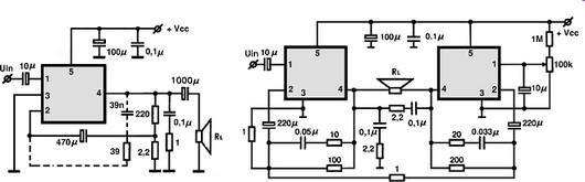 Circuito Eletronico : Upc circuitos integrados para áudio utilização