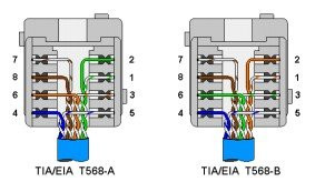 Cat5e T568b Wiring Diagram also 33 Ether  Cabling Its Easy moreover Wiring Diagram On Cat5e T568b further Crossover Cable further StructuredWiringPanel. on t568a t568b jack wiring diagram