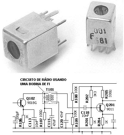 , Circuito de transmissor de FM estéreo com CI Ba1404 amplificado