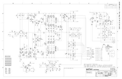 Gallien-Kruger 1001RB-II_POWER_AMP_PN_206-0260, Service Manual ...