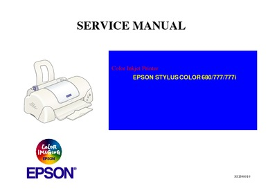 Epson Stylus Color 680-777 Service Manual