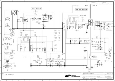 Th on Lcd Tv Power Supply Schematic Diagram