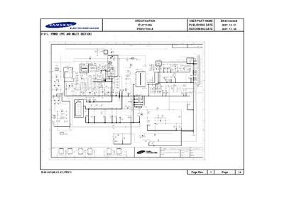 Samsung Power Board Circuit BN44 00202A Service Manual