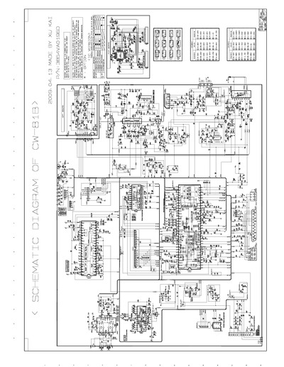 lg 21fj8 chassis  cw81b  service manual  repair schematics