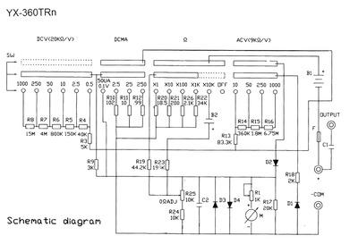 мультиметр Sanwa Yx-360trn инструкция - фото 4
