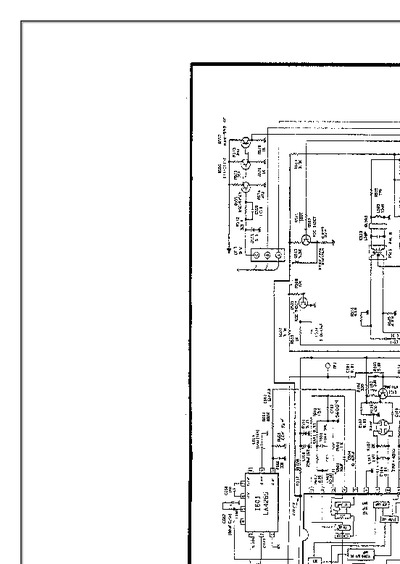 philco 14b29rs  service manual  repair schematics