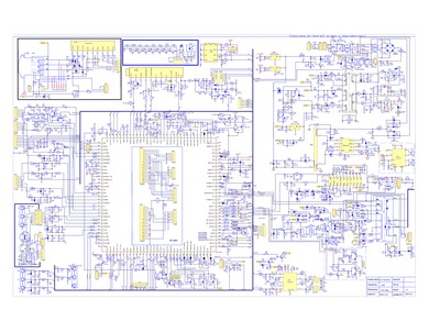 TCL    29DM182T Ch ETC010 M62  Service Manual  Repair Schematics