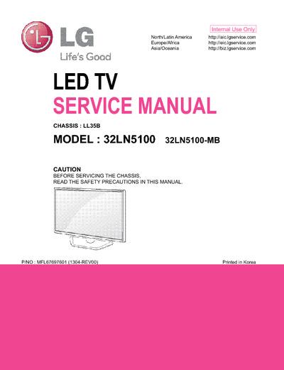 lg 32ln5100 ch ll35b service manual repair schematics