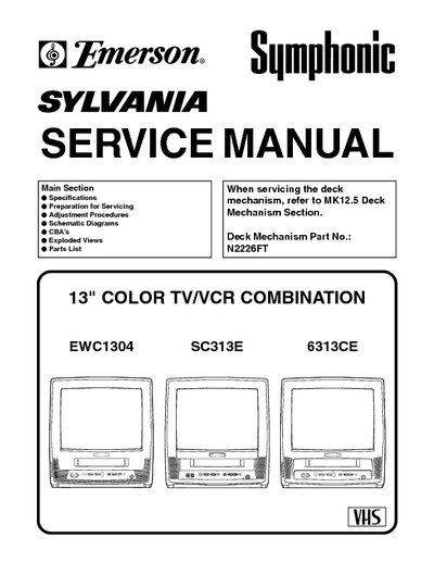 Emerson 19 tv Owners Manual