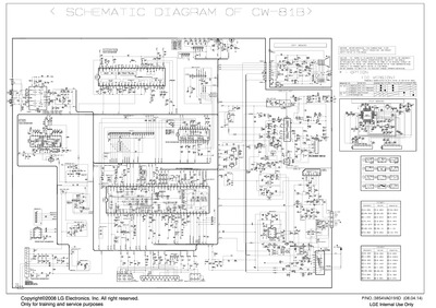 Lg 21fj8rl 21fu6tl L4 Chassis Cw81b Service Manual