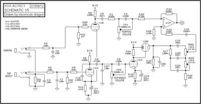on ac15c1 schematic