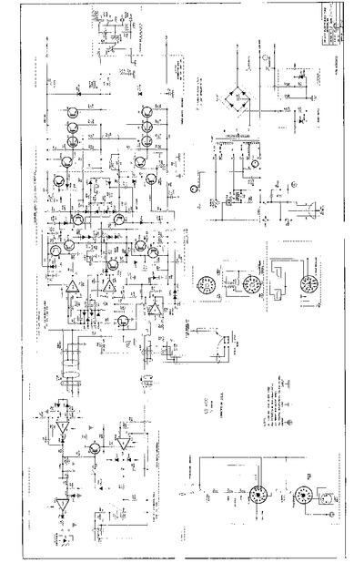 Peavey Cs 400 C Series 7 79 Schematic Service Manual
