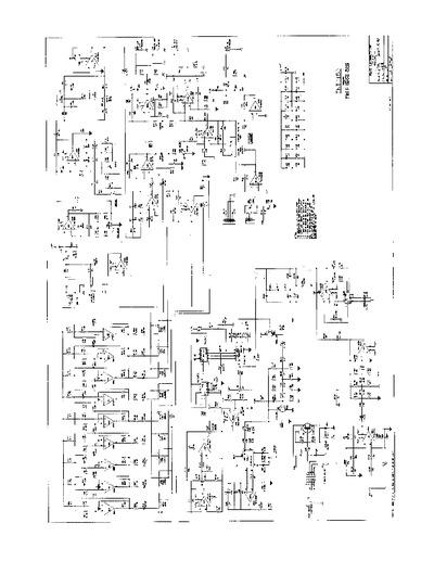 Peavey Tnt 150 Service Manual Repair Schematics