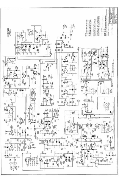 Peavey Heritage-vtx schematic, Service Manual, Repair Schematics