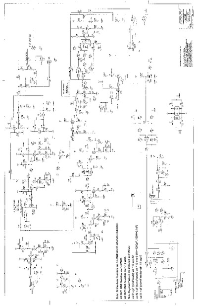 peavey supreme  service manual  repair schematics
