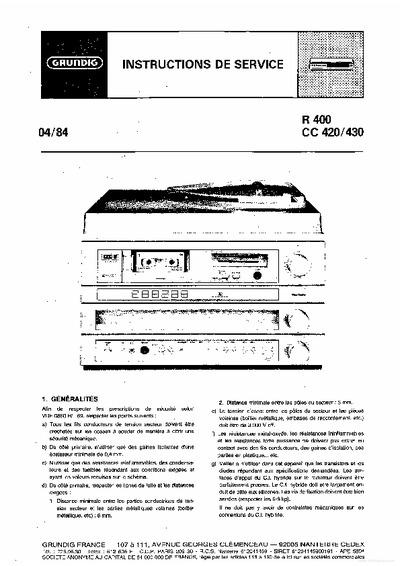 grundig tv manual instructions