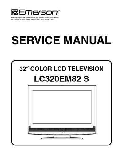 Emerson Tv Manual