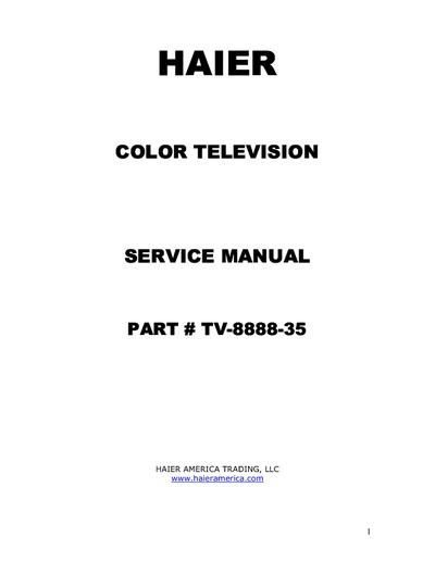 Haier 46ep14s Series