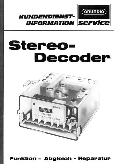 Grundig Stereo