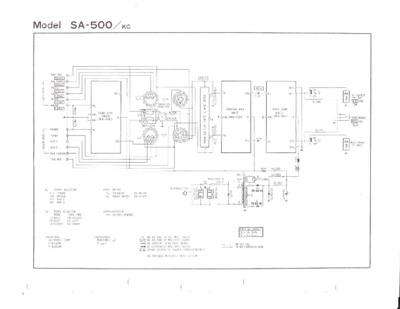 pioneer sa 500a service manual