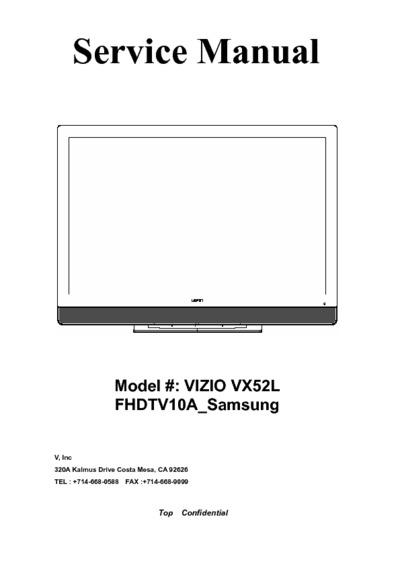 samsung lcd tv repair manual pdf