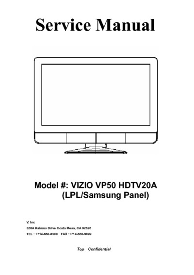samsung led tv service manual pdf