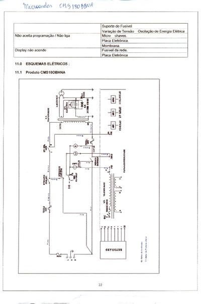 Schema Elettrico Forno Microonde : Micro ondas consul cms bbna service manual repair