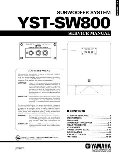Yamaha Yst