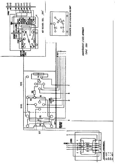 philips 2501 schematic  service manual  repair schematics