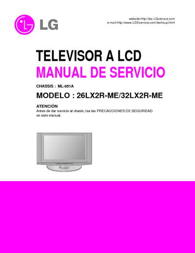 26lx2r Service Manual