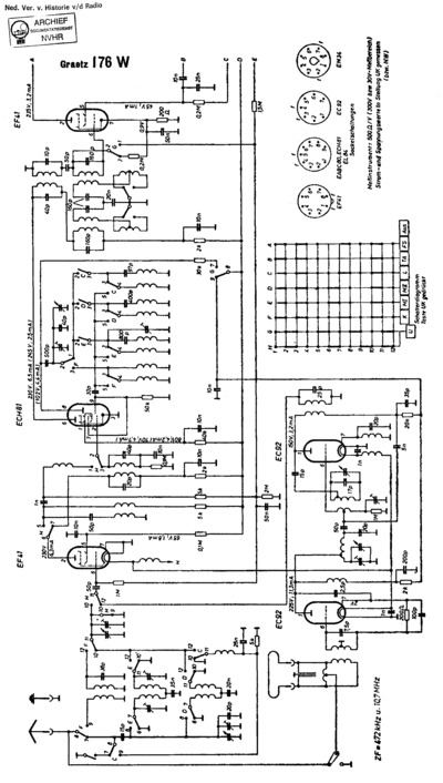 graetz 176w  service manual  repair schematics