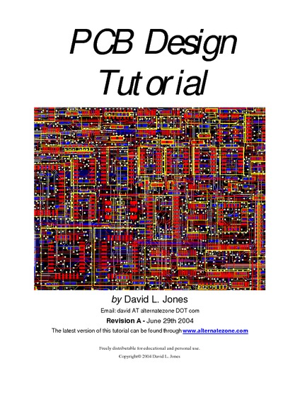 PCB Design Tutorial, Service Manual, Repair Schematics