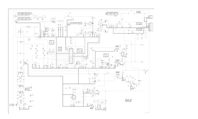 Sony APS-261 Power schematic