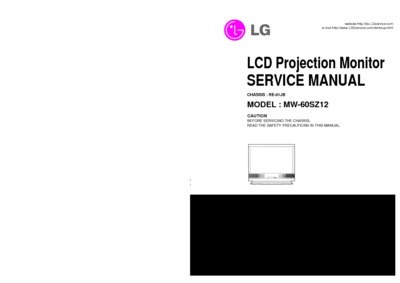 LG MW-60SZ12A Chassis RE01J
