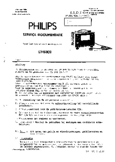 Philips GM6009