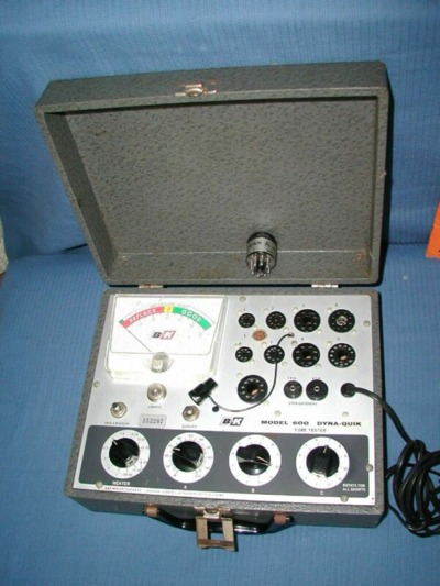 BK Model 600 Tube Tester pics and schematic WW
