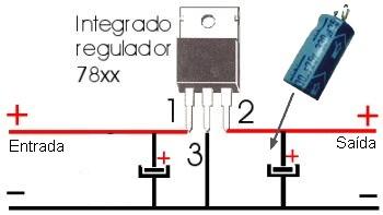 Transformar 12v Em 9v 1 1 Eletronica Esquemas