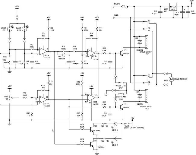 Seguidor Solar Esquemas Eletronica Pt